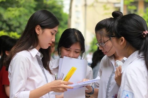 Examen de graduacion del bachillerato de 2020 tendra lugar segun lo planeado hinh anh 1