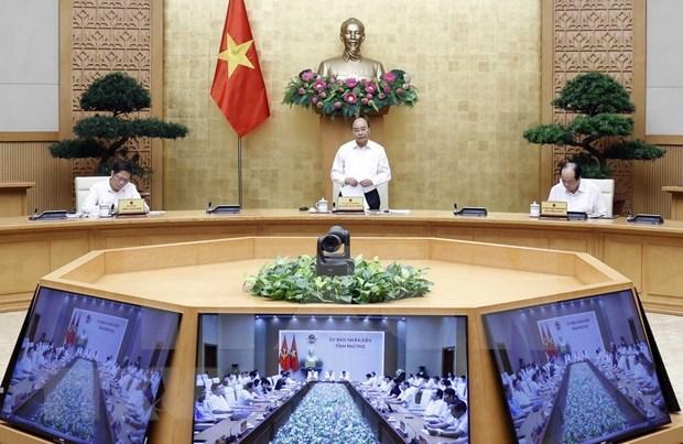 Premier vietnamita trabaja con autoridades de la provincia de Phu Tho hinh anh 1