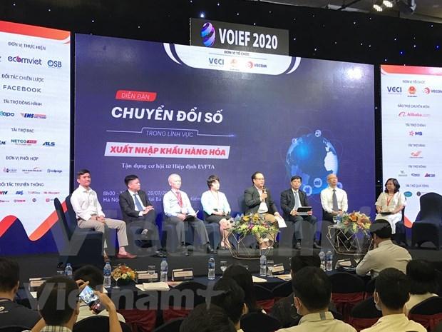 Transformacion digital: oportunidad para ampliar las exportaciones de Vietnam a Europa hinh anh 1