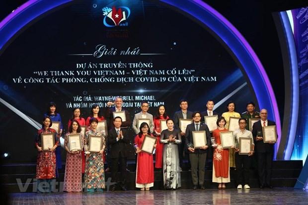 Sobresale la VNA en Premio Nacional de Informaciones para el Exterior hinh anh 1