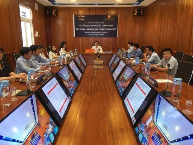 La Oficina de Comercio de Vietnam en Singapur apoya a fortalecer la cooperacion entre ambos paises hinh anh 1
