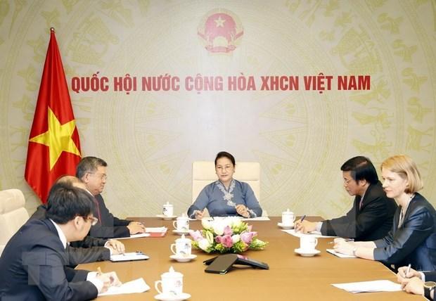 Parlamentos de Vietnam y Nueva Zelanda por agilizar lazos para favorecer asociacion estrategica bilateral hinh anh 1