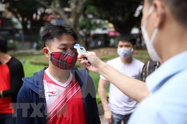 Aumenta el numero de turistas a Hanoi en julio hinh anh 1
