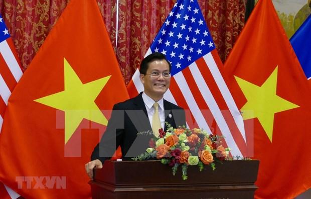 Vietnam celebra en Washington 25 anos de nexos diplomaticos con Estados Unidos hinh anh 1