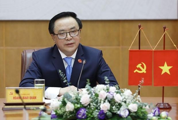 Destacan el desarrollo positivo de las relaciones Vietnam- China hinh anh 1
