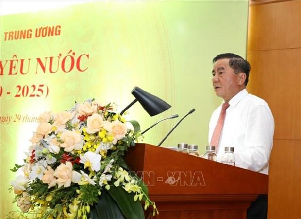 Destacan en Vietnam contribuciones de movimientos de emulacion patriotica a la construccion nacional hinh anh 1
