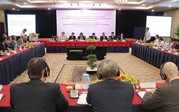 Efectuan en Vietnam conferencia sobre oportunidades que genera EVFTA para empresas hinh anh 1
