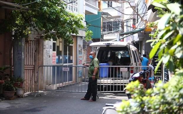 Hanoi refuerza medidas preventivas contra el COVID-19 hinh anh 1