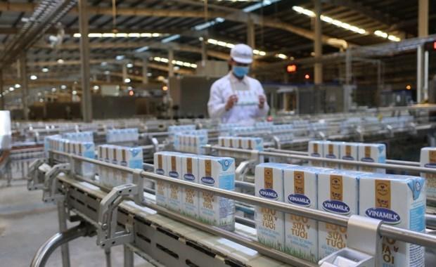Aumentan ingresos de Vinamilk en el segundo trimestre hinh anh 1