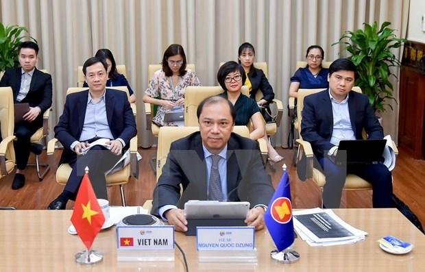 Vietnam convoca a incorporacion dle sector privado a la recuperacion economica de la ASEAN hinh anh 1