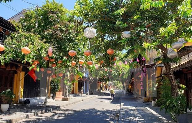 Vietnam aplicara distanciamiento social en el casco antiguo de Hoi An hasta el 14 de agosto hinh anh 1