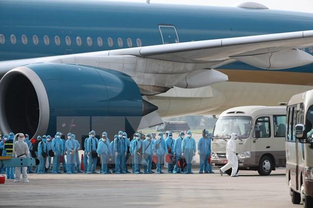 Un vuelo especial que cumple una mision ordenada por el corazon hinh anh 1