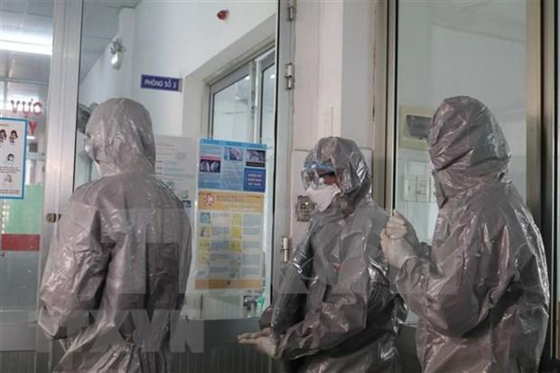 JICA proporciona equipos para el tratamiento del COVID-19 a hospital vietnamita hinh anh 1