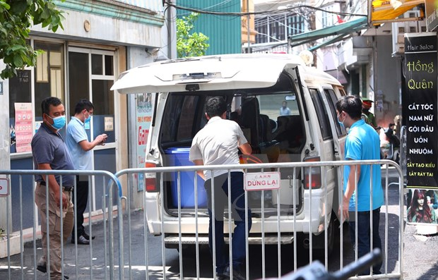 Vietnam reporta nueve casos nuevos del COVID-19 en Da Nang y Hanoi hinh anh 1