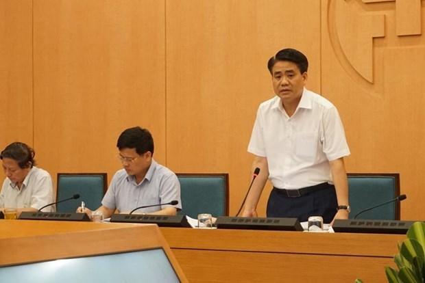 Hanoi insta a realizar pruebas de COVID-19 a personas que regresan de Da Nang hinh anh 1