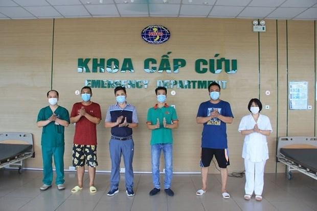 Vietnam: Otros cuatro pacientes recuperados del COVID-19 hinh anh 1