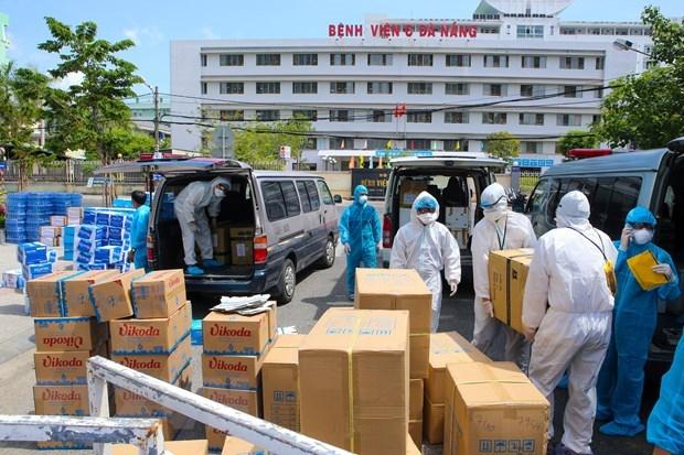 Vietnam reporto otros 45 casos nuevos de COVID-19 en Da Nang hinh anh 1