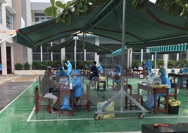 Ciudad de Da Nang establece puestos en entradas para prevenir epidemia hinh anh 1
