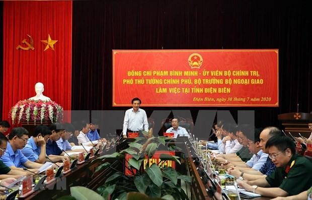 Exhortan a provincia vietnamita de Dien Bien a coadyuvar a construccion de frontera de paz hinh anh 1