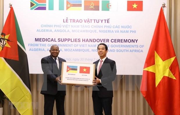 Apoya Vietnam a paises africanos en lucha contra COVID -19 hinh anh 1