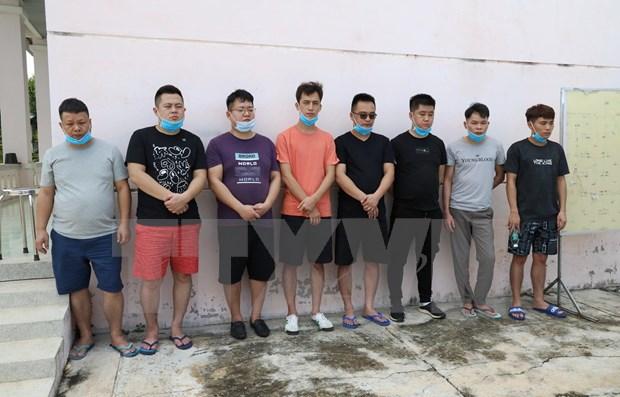 Arrestan a 16 personas en Vietnam por atravesar linea fronteriza ilegalmente hinh anh 1