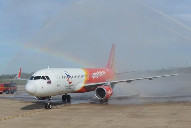 Inaugura Thai Vietjet vuelo Bangkok - Khon Kaen hinh anh 1