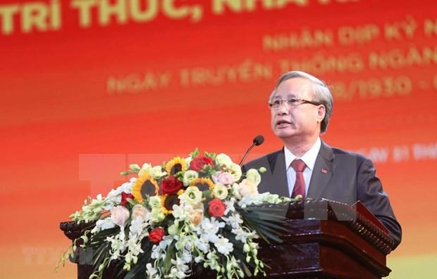 Promueve Vietnam papel de intelectuales, cientificos y artistas en desarrollo nacional hinh anh 1