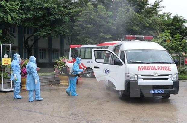 Listo el primer hospital de campana en Da Nang hinh anh 1