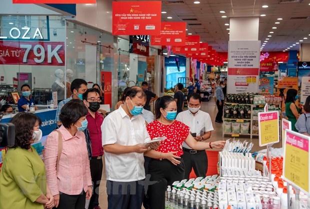 Examinan suministro de productos de necesidad en Vietnam hinh anh 1