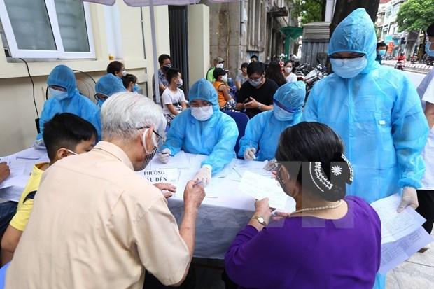 COVID-19: se detectan otros cuatro nuevos infectados en Vietnam hinh anh 1