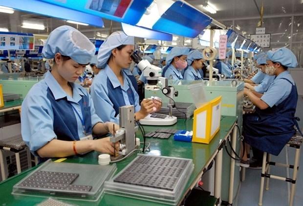 Aumento del indice de produccion industrial de Vietnam reporta el nivel mas bajo en anos hinh anh 1