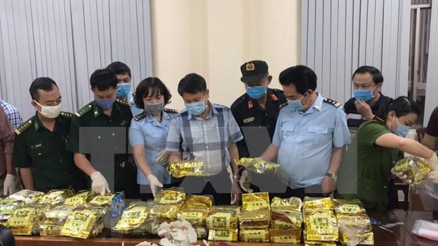 Desmantelan en Vietnam red transnacional de trafico de drogas hinh anh 1