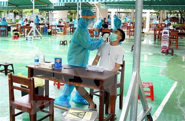 Vietnam reporta otro caso positivo del COVID-19 en Quang Ngai hinh anh 1