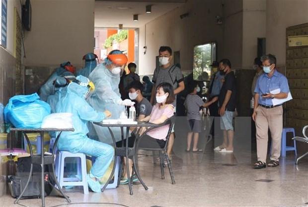Aceleran pruebas de COVID-19 en Ciudad Ho Chi Minh hinh anh 1