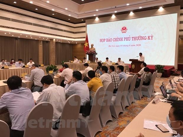 Economia de Vietnam, estable pese a impactos de COVID-19 hinh anh 1