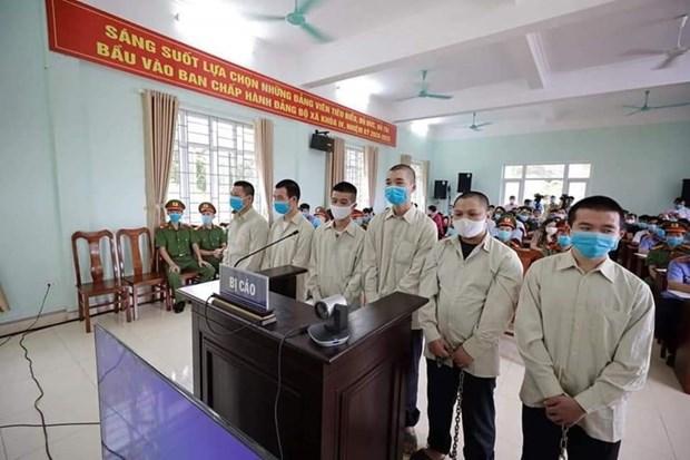 Emiten sentencias a prision para responsables de entrada ilegal de extranjeros en Vietnam hinh anh 1