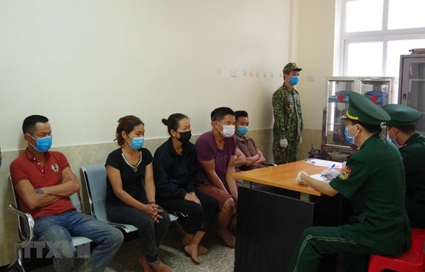 Vietnam procesa cinco casos de entrada ilegal de ciudadanos chinos en el pais hinh anh 1