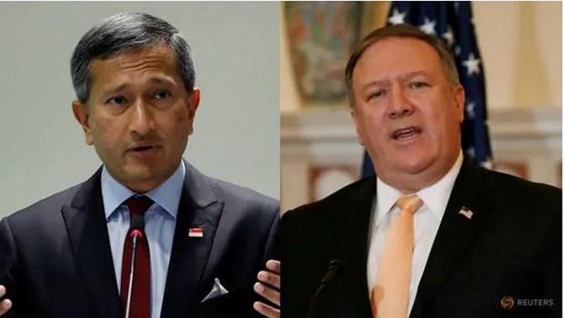 Estados Unidos y Singapur apoyan solucion de disputas en Mar del Este segun el derecho internacional hinh anh 1