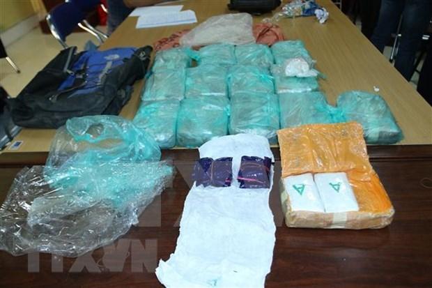 Condenan en Hanoi a un extranjero por trafico de drogas hinh anh 1
