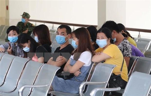 Arrestan y ponen en cuarentena a unas 10 personas que entraron a Vietnam de forma ilegal hinh anh 1