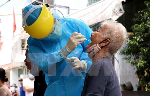 Dan a conocer los centros sanitarios avalados para las prueba del COVID-19 en localidad vietnamita hinh anh 1