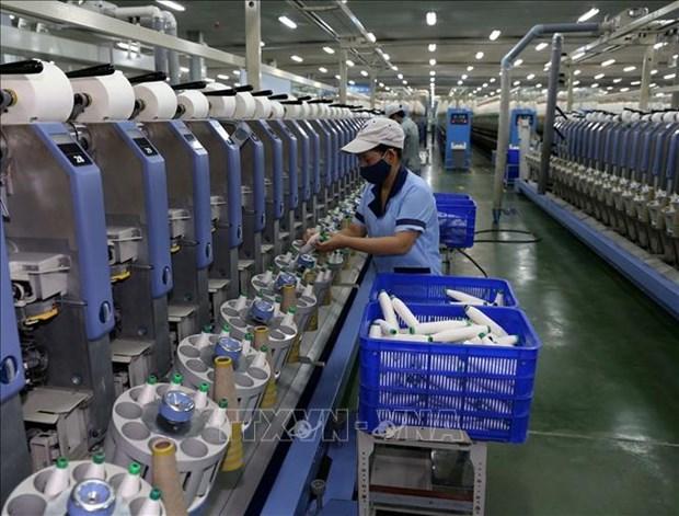 Produccion industrial de Vietnam registra crecimiento mas bajo hinh anh 1