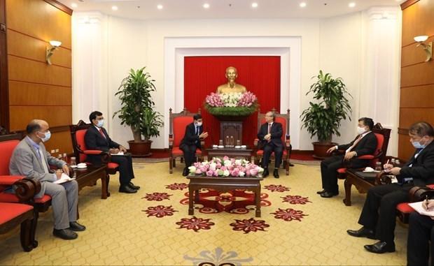 Vietnam aspira a mejorar la asociacion estrategica integral con la India hinh anh 1