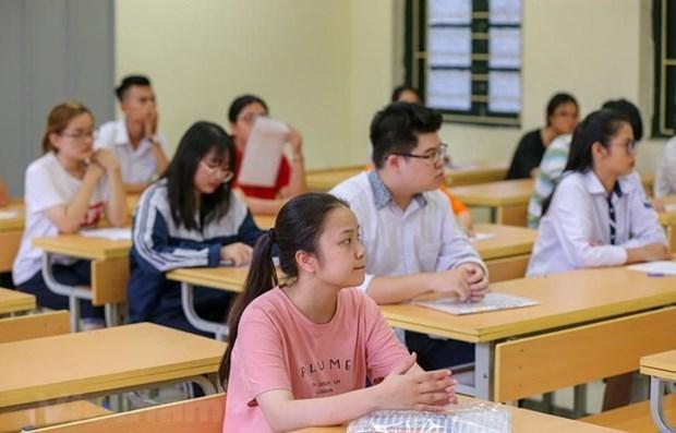 Completa Vietnam preparativos para examen de graduacion de bachillerato hinh anh 1