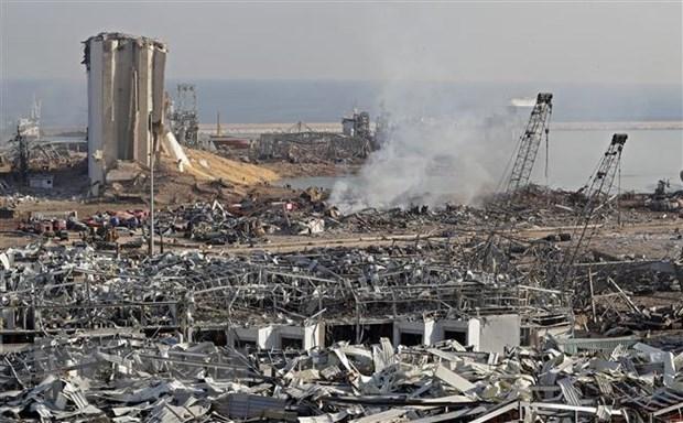 Vietnam expresa condolencias a Libano por perdidas en doble explosiones en Beirut hinh anh 1