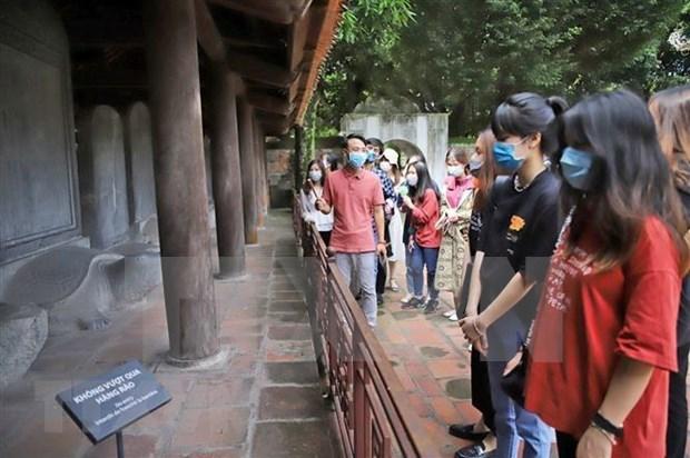 Turismo de Hanoi refuerza resiliencia para encarar el COVID-19 hinh anh 1