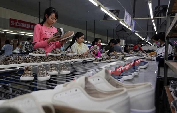 Exportacion vietnamita de calzado supera los nueve mil millones de dolares hinh anh 1