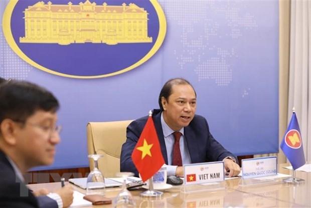Vietnam participa en el 33 Dialogo ASEAN- Estados Unidos hinh anh 1