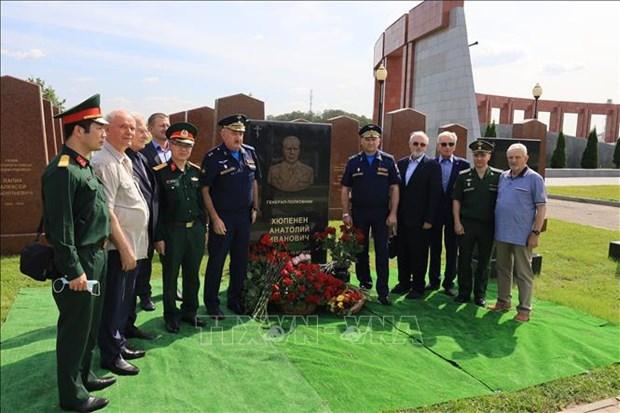 Honran en Moscu a exjefe del grupo de expertos militares sovieticos en Vietnam hinh anh 1