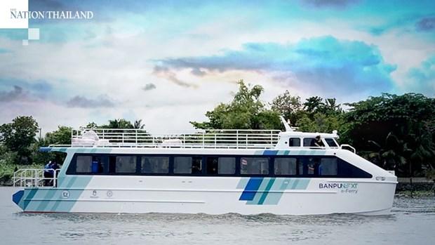 Tailandia presenta ferry electrico, en aras de proteger medio ambiente hinh anh 1